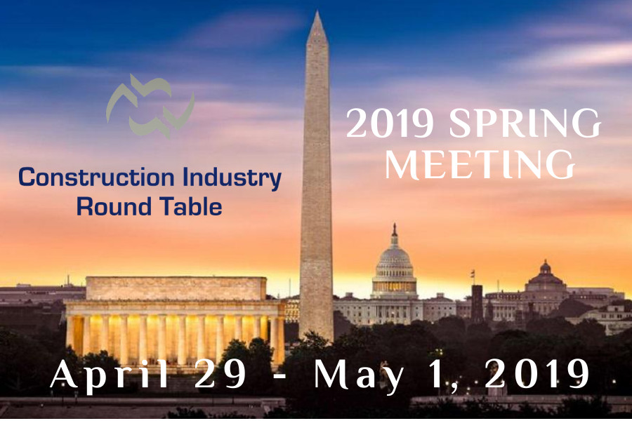 Construction Industry Round Table Cirt Events